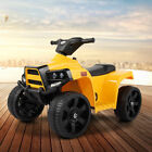 Electric Car Kids Ride On ATV Quad 6V Battery Powered 4-Wheel Toy Car w/ 2 Speed