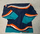 New York islanders blue wave fisherman jersey with crest removed rare team issue