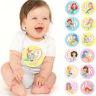 12pcs Baby Infant Mermaid Print Shower Monthly Milestone Stickers Shower Gift