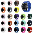 20/22MM Silicone Sport Band for Samsung Galaxy Watch 46mm Gear S3 Strap Bracelet image
