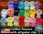 Flower Hair Clip [U.S. SELLER] [Chiffon] [Alligator Clip] [2'' and 2.8'']