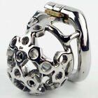 New Arrival Stainless Steel Small Male Chastity Device 50mm Cage S061