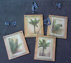 Tropical Pictures Coconut Palm Trees Leaves Wall Hangings Plaques