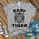 Easy Tiger T-shirt, Free Joe Exotic, Tiger King, Funny Tees, Humor Shirts