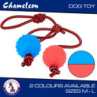 Dog Toys Chew Toys Ropes, Tooth Cleaning thrower tugger 30x5cm or 35x7cm ball