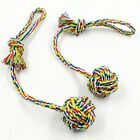 Dog Toys Pet Products Rope Knot Ball Dog Teeth Cleaning Hand Drawn Pet Supplies