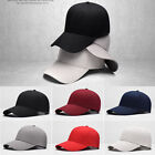 Unisex Men Women Blank Plain Adjustable Baseball Cap Bboy Snapback Hats Hip-hop