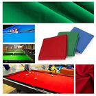 Colour Snooker DIY Eight Ball Billiard Pool Table Sports Gaming Cloth Accessory $59.51 CAD on eBay