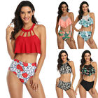 2020 Women Push Up Padded Bikini Set High Waisted Swimsuit Bathing Suit Swimwear