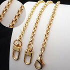 PURSE SHOULDER CROSSBODY CHAIN STRAP METAL REPLACEMENT GOLD 5mm