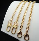 PURSE SHOULDER CROSSBODY CHAIN STRAP METAL REPLACEMENT GOLD 7mm