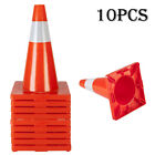 """5/10PCS 18"""" Orange Traffic Cones Parking Construction Emergency Road Safety Cone"""