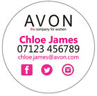 Avon business stickers labels 12,15 or 35