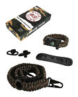 RS RIFLE SLING Camouflage Traditional 2-Point 550 Paracord Complete Bundle Gear