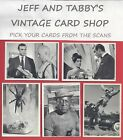1965  GLIDROSE JAMES BOND 007 TRADING CARDS you pick from scans $4.0 USD on eBay