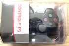 PLAYSTATION 3 WIRED AND WIRELESS CONTROLLER BLACK - JOYPAD For PS3
