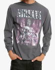 Nirvana SLIVER Long Sleeve T-Shirt NWT 100% Authentic Front & Back Design