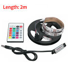 "6.56ft USB LED TV Backlight 5050 RGB Fairy Lights for 40-60"" TV Room Decoration"