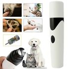 Pets Dog Cat Nail Claw Grooming Grinder Trimmer Clipper Electric Nail File Tool