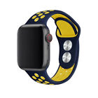 40/44mm 38/42mm Silicone Sports iWatch Band Strap for Apple Watch Series 5 4 3 2 <br/> 🔥Colorful Choices🔥Breathable🔥High Quality🔥Fast Ship