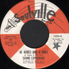 """SOUND EXPERIENCE 40 Acres And A Mule / Blow Your Mind 7"""" VINYL USA Soulville"""