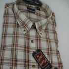 Arrow Mens Classic Fit Plaid Button Down Dress Shirt Size Sm, Med  MSRP $54.00