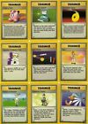 Pokemon Base Fossil Jungle Set Trainer Cards - Make your selection - WOTC