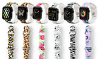 Replacement Printed Silicone Sports Strap Band for Apple iWatch 38/42mm