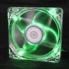 80mm LED PC Fan Cooler, 3pin & Molex 4D 12V 2200RPM 8cm (3 Color available)