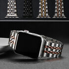 Stainless Steel iWatch Band Strap for Apple Watch Series 6 5 4 3 2 SE 40/42/44mm