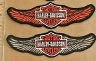 Harley Davidson Patch straight wings  Orange or Tan $13.99 USD on eBay