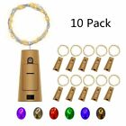Fairy String Lights Battery Powered Wine Bottle Cork LED Outdoor Décorative Lamp
