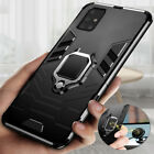 For Samsung A51 A71 A12 A32 A20S Shockproof Finger Ring Holder Stand Case Cover