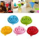 Small Silicone Collapsible Foldable Silicon Kitchen Hopper Practical Funnel B6V3 günstig