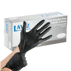 100 ct Powder-Free Nitrile 5 Mil Gloves - Black (Choice of Small or Extra Large)
