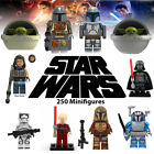 Star Wars 250 Minifigures Mandalorian, Yoda, Obi, different compatible Lego $2.99 USD on eBay