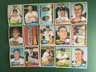 1965 TOPPS BASEBALL HIGH SERIES 371-598 PICK CARDS YOU WANT