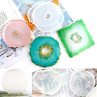 Coaster Resin Casting Mold Silicone Jewelry Agate Making Epoxy Mould Tools Craft
