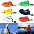 Topwater Crankbait Tackle Bass Minnow Baits Soft Frog Lures Treble Fishing C1a3