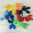 Silicone Ear Plugs Sleep Earplugs Noise Reduction Swimming With Rope L0z8