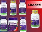 Natrol Melatonin 1mg 3mg 5mg 10mg Fast Dissolve Time Release 60 90 100 Tablets!