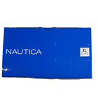 Nautica Boxer Briefs Classic Cotton 3 Pack New Blue Large L or XL