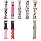 Cute Mickey Minnie Kitty Sport Band for Apple Watch Series 5 4 3 2 1 Wrist Strap image