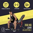 【350kg】Adjustable Weight Bench Dumbbell Fitness Incline Decline Sit up Gym Home