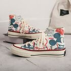 New Women Mickey Mouse Canvas Sneakers Lady Flat Lace-up Printed Summer Shoes