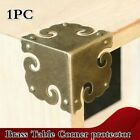Brass Wood Box Table Corner Protector Edge Safety Bumper Furniture Hardware Gold