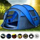 4-6 Person Instant Pop Up Tent Family Waterproof Backpacking Hiking Camping Tent