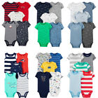 Carters Bodysuits Baby Boys Short Sleeve, Sleeveless, Unisex Sets New
