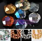 100pcs Crystal Glass Faceted Loose Spacer Beads Lot Jewelry Diy 4mm 3mm 6mm D9o8