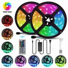 5/10/20M LED Strip Light 5050 SMD RGB 30Leds/m Waterproof WIFI IR Controller 12V